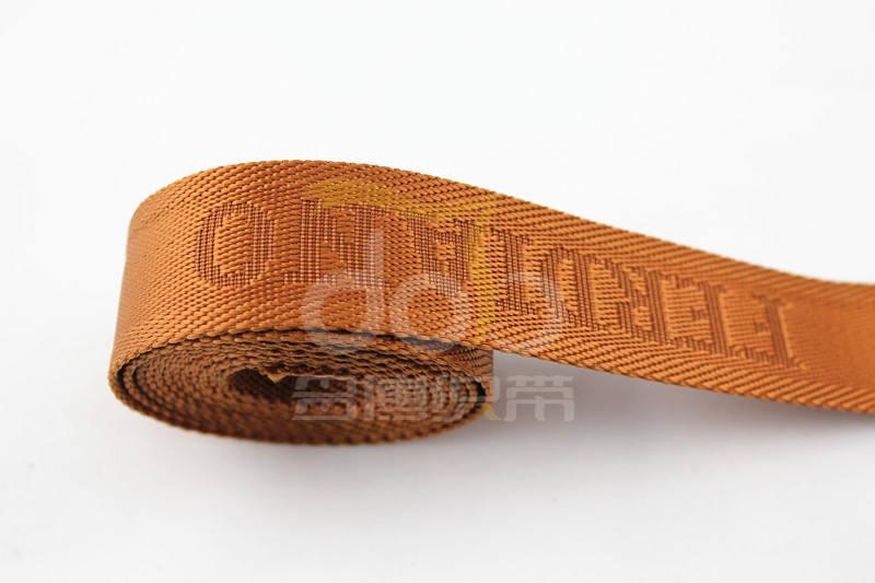 多博的尼龙提花织带独具特色